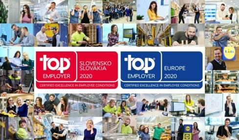 Ocenenie TOP Emploer 2020